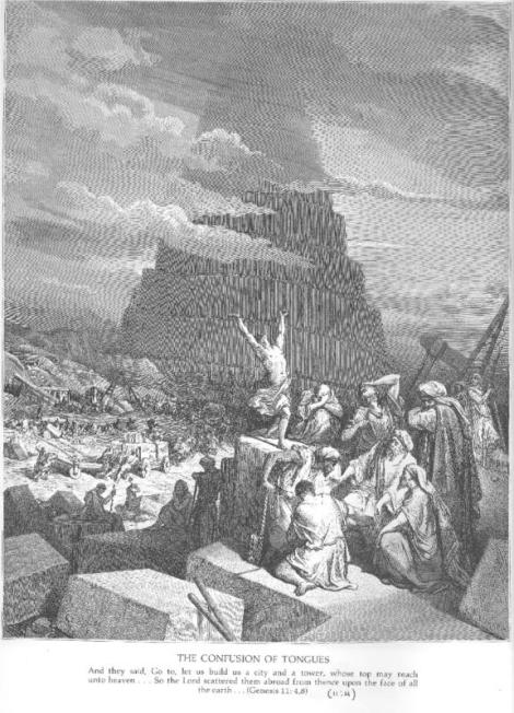 The Tower of Babel Gustave Dore