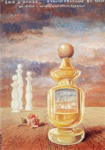 Soir d'orage, strange perfume by mem by René Magritte