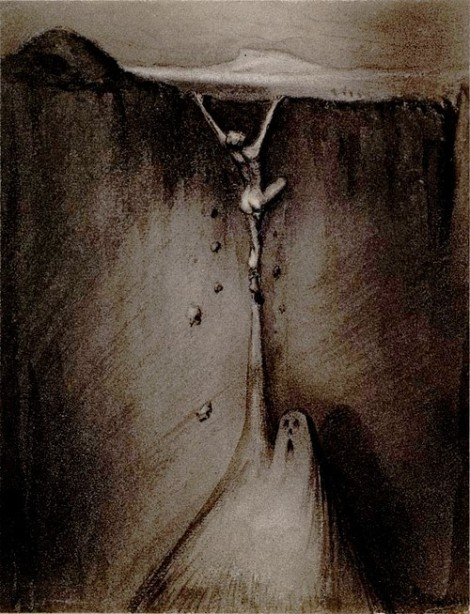 Angst by Alfred Kubin