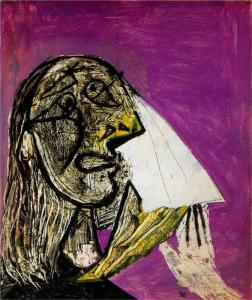 Crying woman by Pablo Picasso