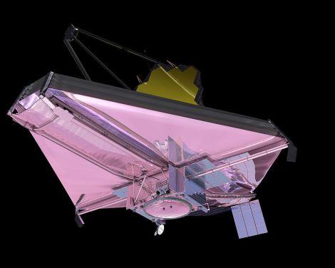 James Webb telescope - from wikimedia commons