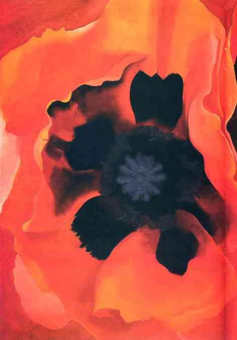 Poppy 2, by Georgia O'Keefe