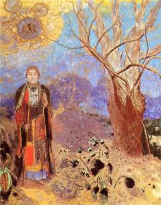 The Buddha by Odilon Redon