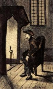 Near the hearth by Vincent van Gogh
