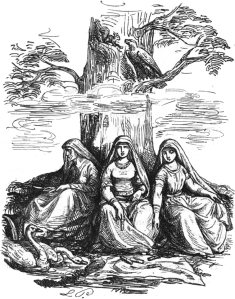 Norns from Wikimedia Common.