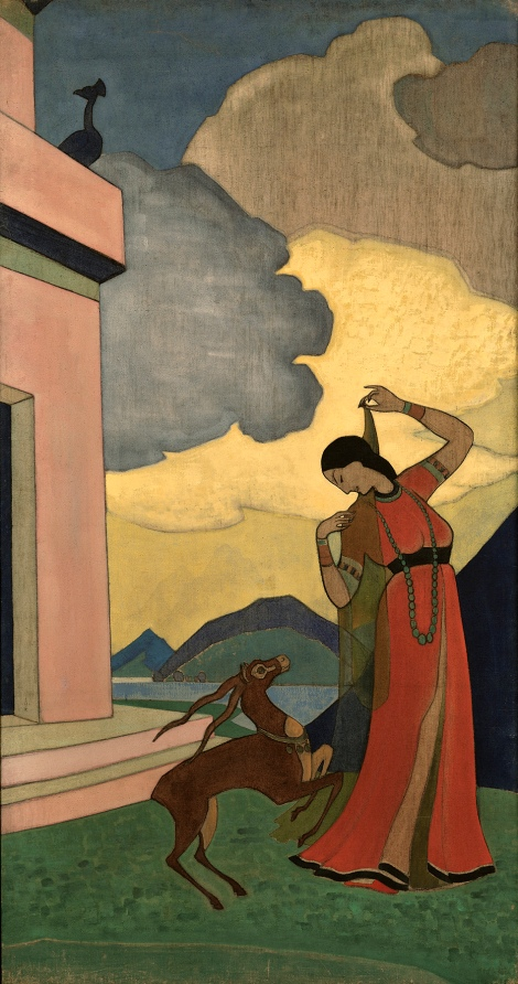 Song of the Morning by Nicholas Roerich