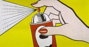 Spray by Roy Lichtenstein
