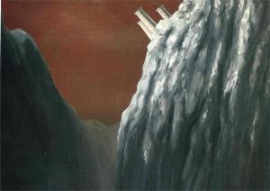 The Perfume of the Abyss by Rene Magritte