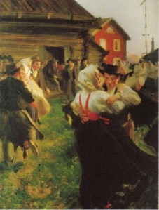 by Anders Zorn