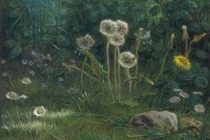 Dandelions by Jean-Francois Millet