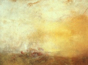 Turner - Sunrise with sea monsters
