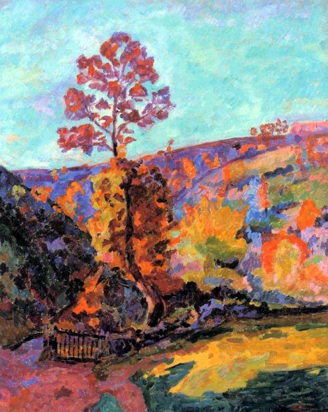 Paysage à Crozant by Armand Guillaumin