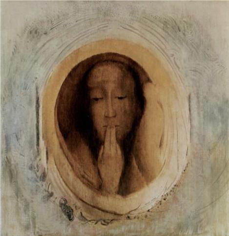Silence by Odilon Redon