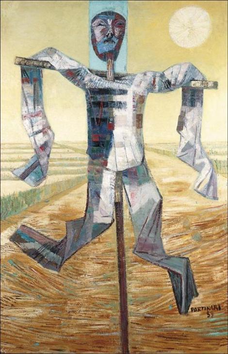 Scarecrow by Candido Portinari
