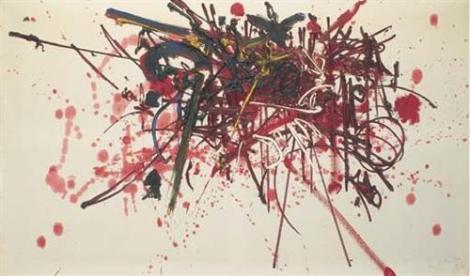 Le massacre de Vassy by Georges Mathieu