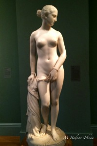 """Greek Slave"" Marble @1873 by Hiram Powers"