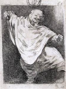 Phantom Dancing with Castanets by Francisco Goya