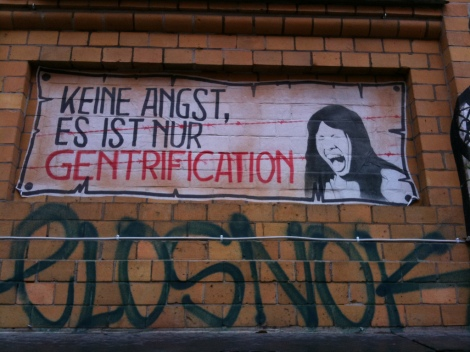 keine Angst, es ist nur Gentrification by Sebastian Thiele with Creative Commons License
