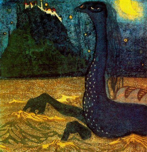 Moonlight Night by Wassily Kandinsky