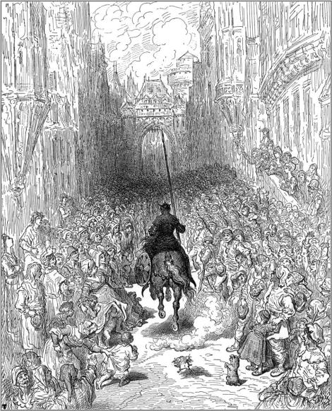 Orlando Furioso by Gustave Doré