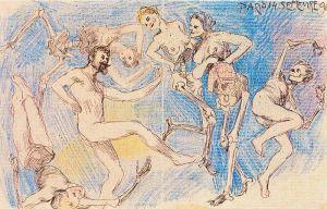 Dance Macabre by Frantisek Kupka