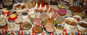 """Julbord"". Licensed under CC BY-SA 3.0 via Wikimedia Commons"