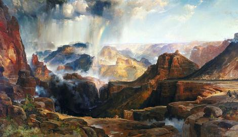 The Chasm of Colorado by Thomas Moran