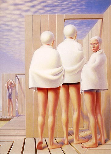 Bathers, 1950 by George Tooker