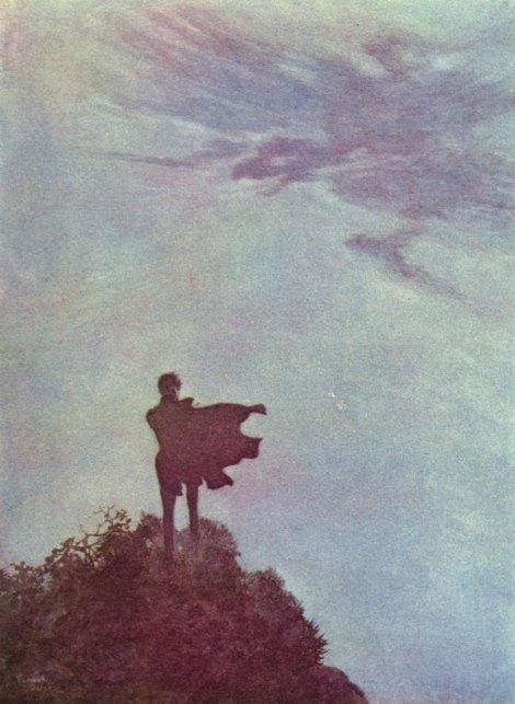 Alone by Edmund Dulac