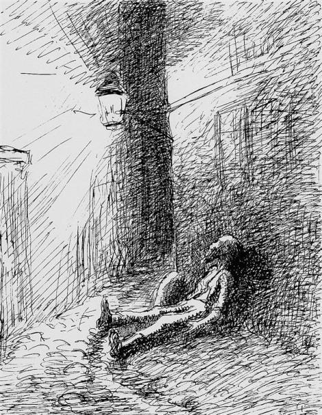 Poor John by Camille Pissarro