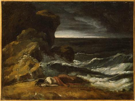 Shipwreck by Theodore Gericault