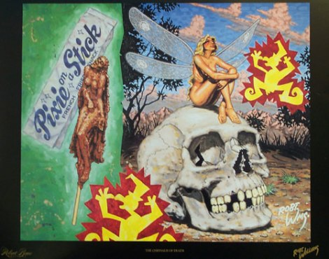 The Chrysalis of Death by Robert Williams