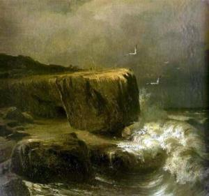 Tide near the Shore of the Crimea by Fyodor Vasilyev