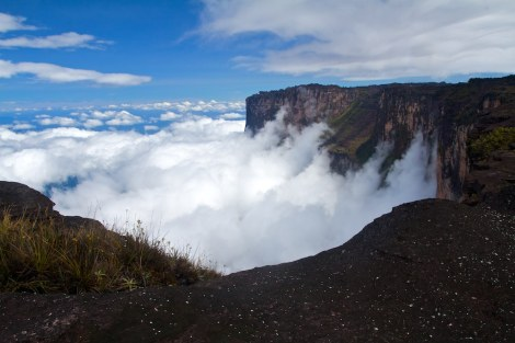 View from Mt. Roraima by Paolo Fassina on Flickr
