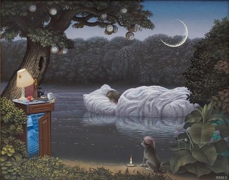 Dream. Jacek Yerka