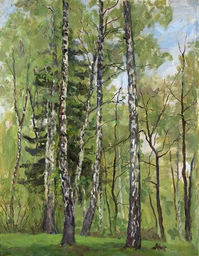 Spring Day by Pyotr Konchalovsky