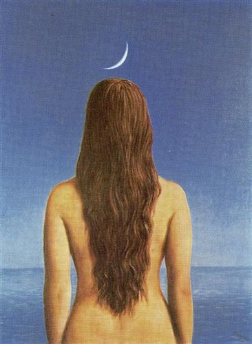 The Evening Gown by Henri Magritte