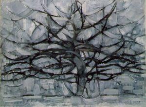 The Gray tree by Piet Mondrian