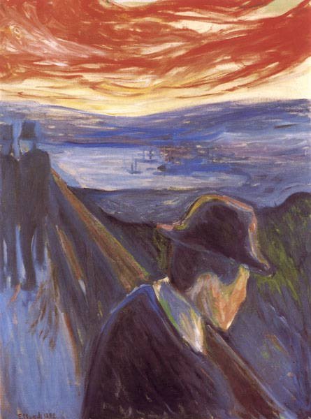 Despair by Edward Munch