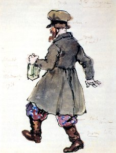 The third drunkard by Alexandre Benois