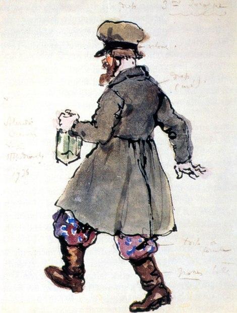 The third drunkard by Alexandre Benois