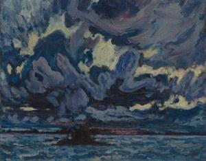 Wind clouds by  J. E. H. MacDonald