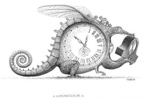 Chronozaurus by Jacek Yerka
