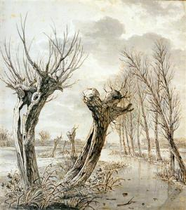 Landscape in winter Jacob van Strij