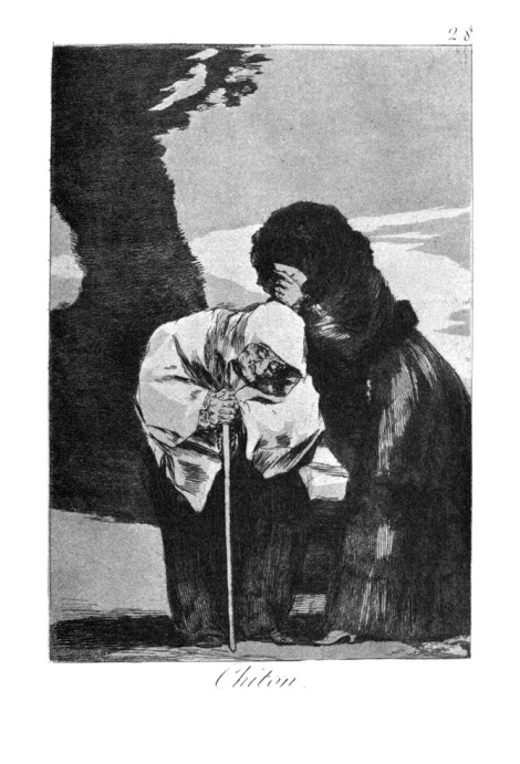 Hush by Francisco Goya