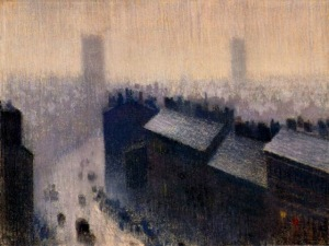 Rooftops Manchester by Adolphe Valette
