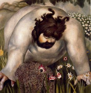 Christ in the Wilderness by Stanley Spencer