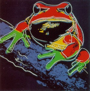 Pine Barren Tree Frog II.294 (From Endangered Species Suite) by Andy Warhol