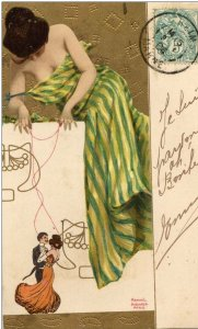 Marionettes by Raphael Kirchner
