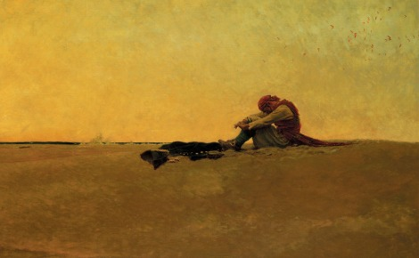 Marooned by Howard Pyle